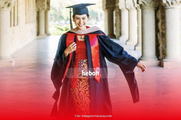 Maudy Ayunda Lulus S2 di Stanford University!