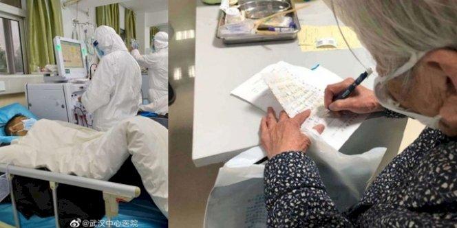 Dijauhi Keluarga, Seorang Nenek Menjaga Anaknya yang Terinfeksi Virus Corona Sendirian