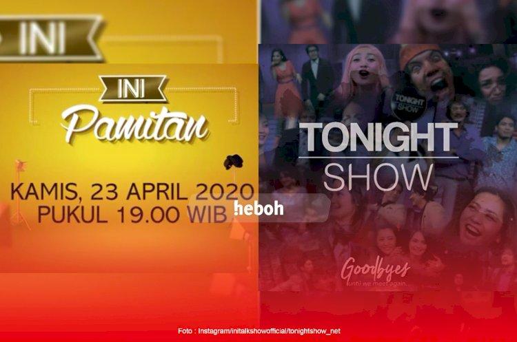 Dua Program Andalan NET TV, Ini Talkshow dan Tonight Show Umumkan Pamit
