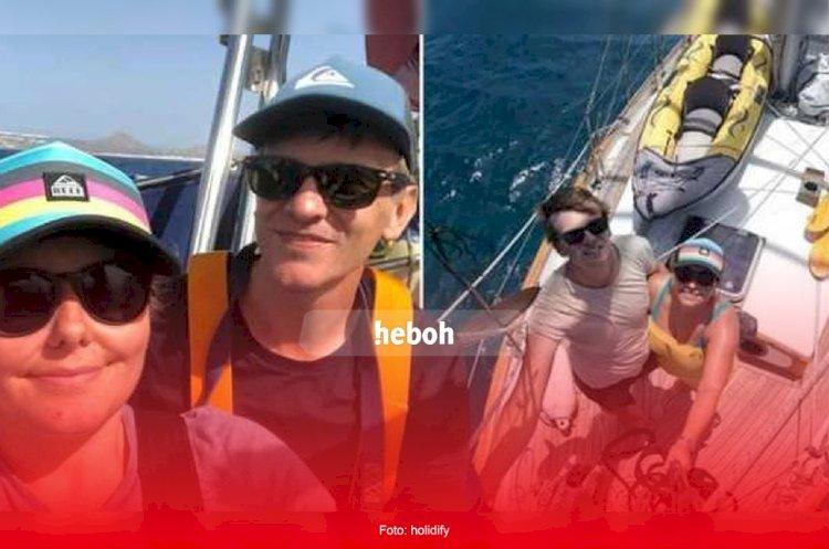 Berlayar di Laut Selama 2 Tahun, Pasangan Ini Tak Tahu Ada Virus Corona