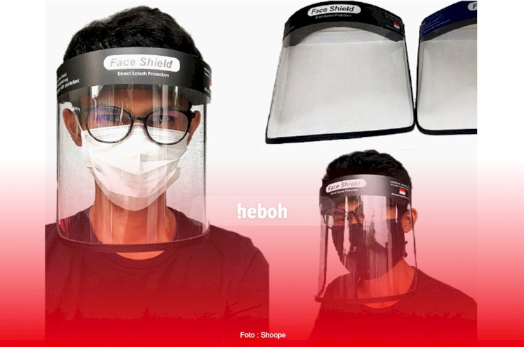 Kreatif! Berbagai Macam Face Shield dan Masker untuk Cegah Covid-19