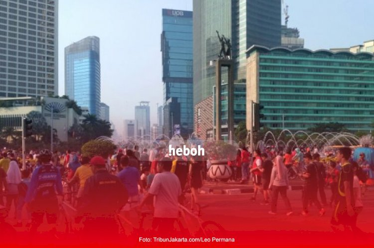 5 Orang Reaktif Usai Rapid Test di CFD Jakarta 21 Juni