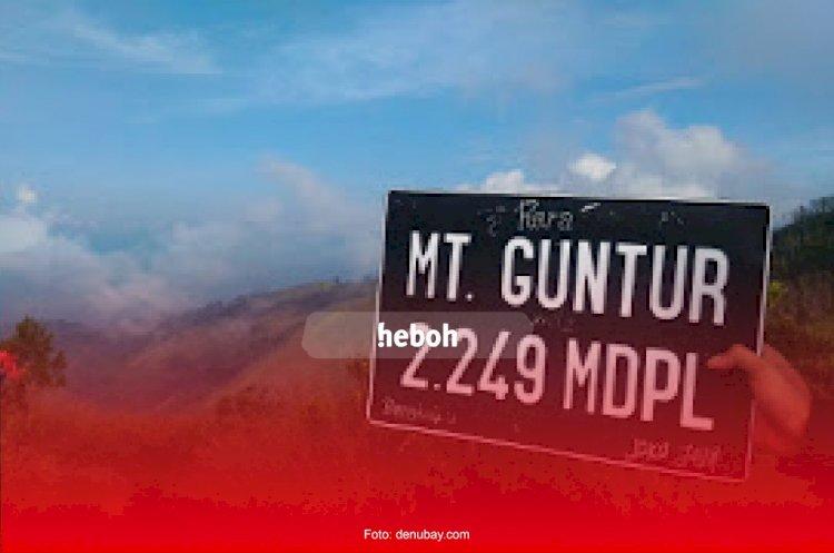 Misteri Hilangnya Pendaki di Gunung Guntur