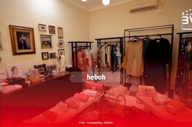 Potret Walk-in Closet Rossa yang Super Luas dan Mewah