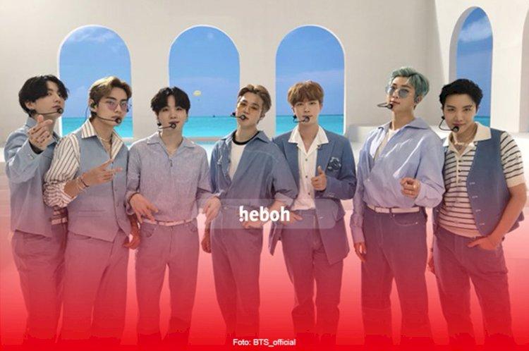 5 Lagu BTS Masuk List 10 Lagu K-Pop Paling Banyak Dibicarakan di Indonesia Versi Twitter