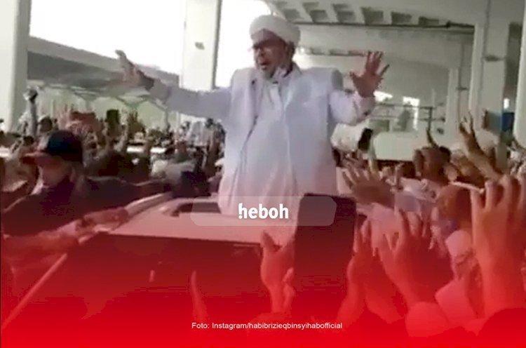 Pulang Ke Indonesia, Ribuan Orang Jemput Habib Rizieq
