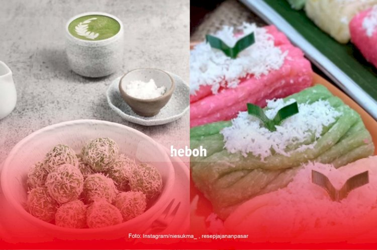 Deretan Kue Basah Tradisional Indonesia yang Bikin Ketagihan