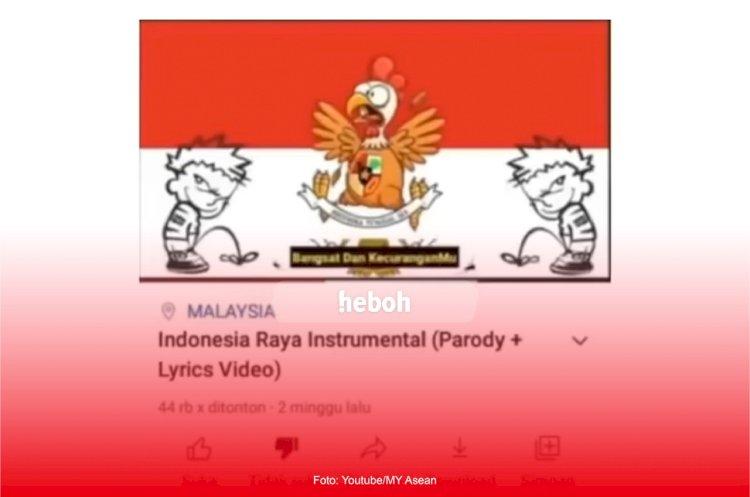 Parodi Lagu Indonesia Raya Viral di YouTube, Pemerintah Malaysia Janji Mengusut dan Menindak Tegas