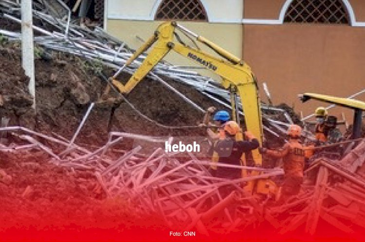 Banjir dan Longsor di Nganjuk, Puluhan Warga Dikabarkan Hilang