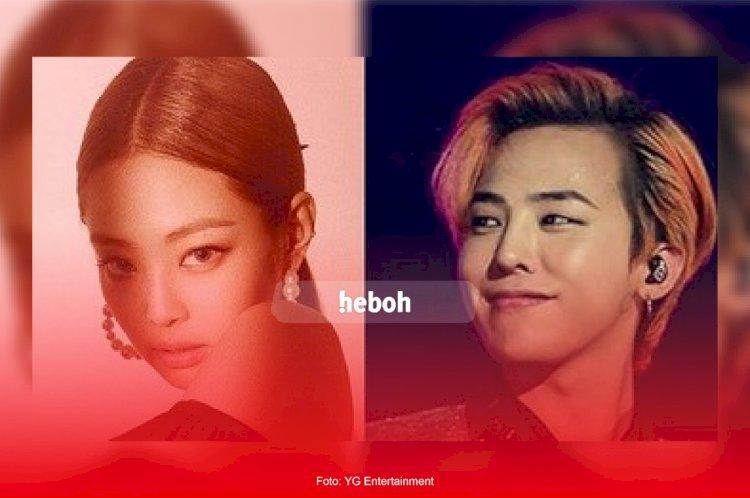 Heboh! Jennie Blackpink dan G Dragon Dikabarkan Berpacaran Selama Setahun